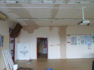 vysoušení podlah a stropů 2