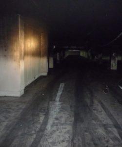 Požár KV areny