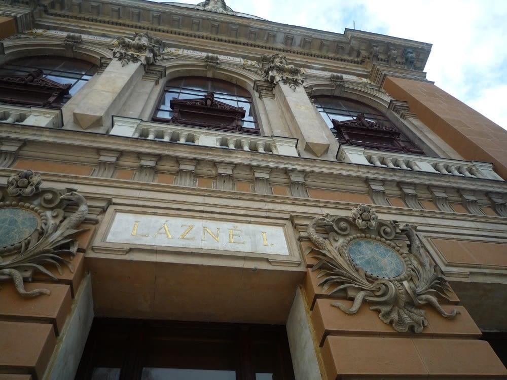 Historická budova v Karlových Varech
