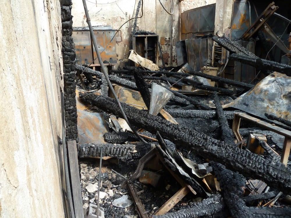 Rokycany po požáru