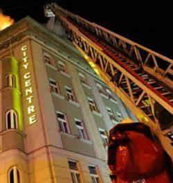 MIBAG Sanace - požár hotelu City Centre Praha