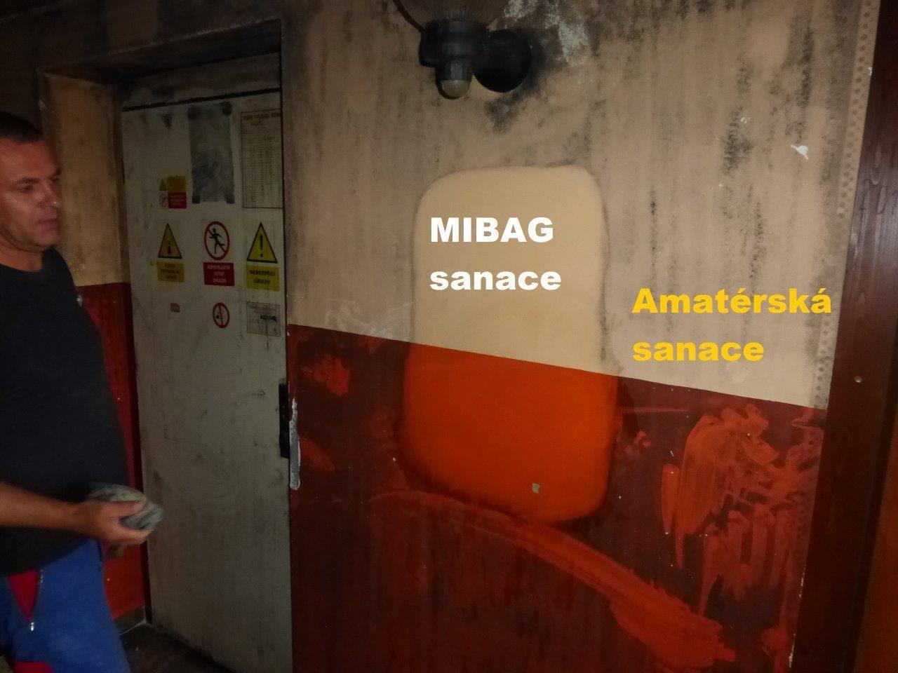 Sanace a člen týmu MIBAG
