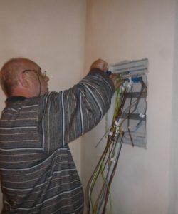 Zásah do elektrického zařízení - sanace